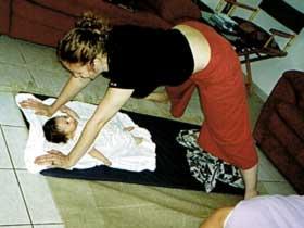 יוגה לנשים ותינוקות