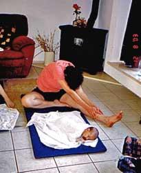 יוגה לאחר לידה